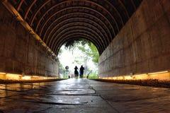 Traînée de tunnel Photographie stock libre de droits