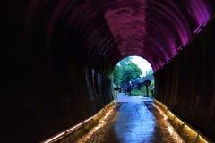 Traînée de tunnel Image stock