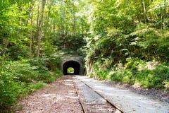 Traînée Howard Tunnel de rail du comté de York photographie stock
