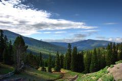 Traînée le Colorado, Etats-Unis de crête de monarque image libre de droits