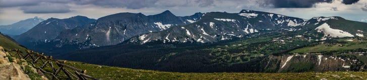 Traînée Ridge Panorama photographie stock