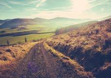 Traînée rurale écossaise images stock