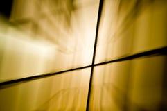 Traînées abstraites brillantes de lumière photo libre de droits