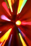 Traînées colorées de lumière images libres de droits