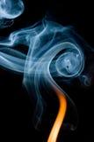 Traînées de fumée Photo libre de droits