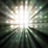 Traînées de lumière Image libre de droits