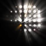 Traînées de lumière Photographie stock libre de droits