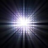 Traînées de lumière Photos libres de droits