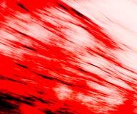 Traînées rouges Photos stock