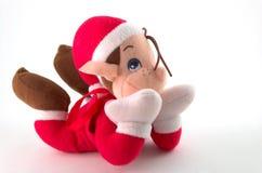 Traîne de Noël Photo libre de droits