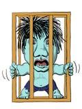 Traîne mise en cage Image stock