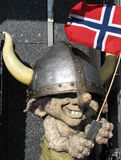 Traîne norvégienne de Viking Photos stock