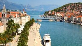 Traù, Croazia fotografia stock