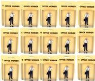 Trabajador 12 del juguete Fotos de archivo