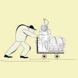 Trabajador libre illustration