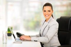 Trabajador corporativo de sexo femenino Imagen de archivo