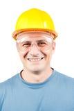 Trabajador de collar azul Fotos de archivo libres de regalías