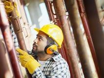 Trabajador de construcción Imagen de archivo