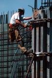 Trabajador de construcción Foto de archivo libre de regalías