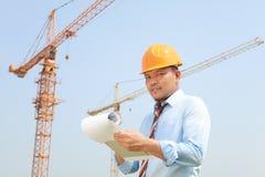Trabajador de construcción Imagen de archivo libre de regalías
