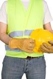 Trabajador de construcción fotografía de archivo