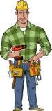 Trabajador de construcción ilustración del vector