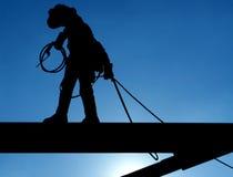 Trabajador de construcción. Imagenes de archivo