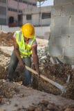 Trabajador de construcción 2 Foto de archivo libre de regalías