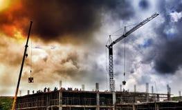 Trabajador de construcci?n imágenes de archivo libres de regalías