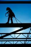 Trabajador de construcción. Imagen de archivo libre de regalías