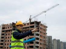 Trabajador de Constructon Fotografía de archivo
