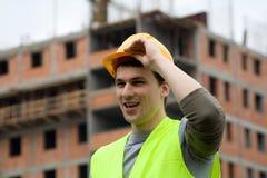 Trabajador de Constructon Foto de archivo