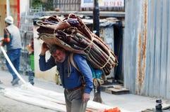 Trabajador de Estambul Fotografía de archivo libre de regalías