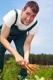 Trabajador de granja estacional fotografía de archivo libre de regalías