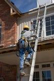 Trabajador de la gente de la construcción Imagen de archivo libre de regalías