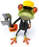 Trabajador de la rana libre illustration