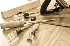 Trabajador de madera Imágenes de archivo libres de regalías