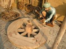 Trabajador de madera Foto de archivo libre de regalías