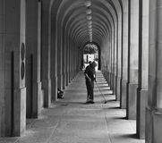 Trabajador de Manchester fotografía de archivo libre de regalías
