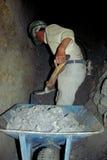 Trabajador de mina de plata Imagen de archivo