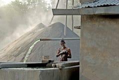 Trabajador indio Imagen de archivo libre de regalías