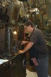Trabajador industrial del metal Fotografía de archivo