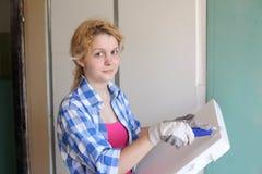 Trabajador joven Imagen de archivo libre de regalías