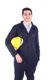 Trabajador joven imagen de archivo