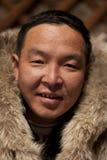 Trabajador mongol Imagen de archivo libre de regalías