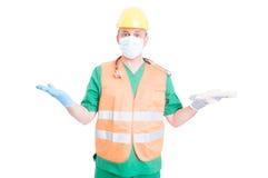 Trabajador o empleado indeciso que busca para el concepto de trabajo Foto de archivo