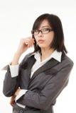 Trabajadora asiática Foto de archivo