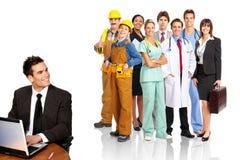 Trabajadores Imagen de archivo libre de regalías