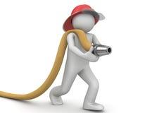 Trabajadores - bombero Fotografía de archivo