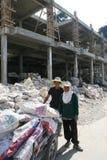 Trabajadores Burmese imagen de archivo